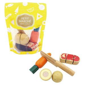 【クーポン配布中】 PETIT MARCHE ベーシック エド・インター 木のおもちゃ ままごと セット ごっこ あそび 楽天