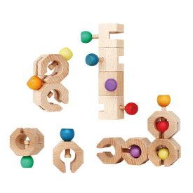 【クーポン配布中】 GENI Connectable Chain Cobit -12pieces- 木のおもちゃ 出産祝い 木製 玩具 知育 積木 積み木 ツミキ エド・インター 楽天 【ラッピング無料】