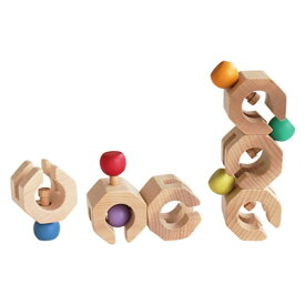 【クーポン配布中】 GENI Connectable Chain Cobit -6pieces- 木のおもちゃ 出産祝い 木製 玩具 知育 積木 積み木 ツミキ エド・インター 楽天 【ラッピング無料】