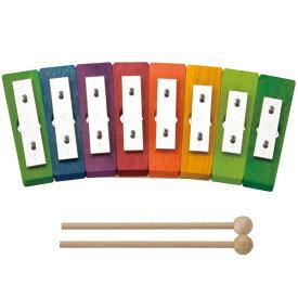 【クーポン配布中】 レインボーグロッケン ダイヤ8音 デコア DE5780 ガイドブック付き 楽器 玩具 出産祝い 楽器玩具 木のおもちゃ 【送料無料】楽天