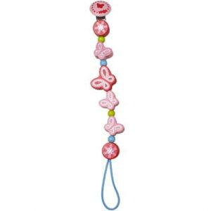 【クーポン配布中】 HAビードクリップ バタフライ ベビーチェーン 木のおもちゃ 落下防止 ラトル おしゃぶり 赤ちゃん ベビー 出産 御祝 楽天