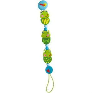 【クーポン配布中】 HAビードクリップ フロッグコンサートベビーチェーン 木のおもちゃ 落下防止 ラトル おしゃぶり 赤ちゃん ベビー 出産 御祝 楽天