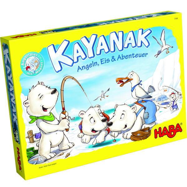 ボードゲーム ★カヤナック★ 【HABA (ハバ) 社 ドイツ】【木のおもちゃ】 楽天