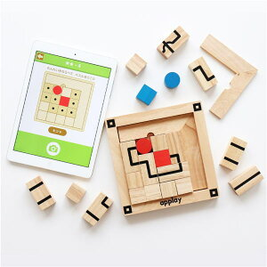 【クーポン配布中】 applay Route Finder ルート 木のおもちゃ パズル エドインター 知育 脳トレ プログラミング 玩具 楽天