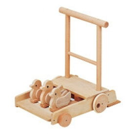 【クーポン配布中】 森の押車 ことり W-039 日本製 MOCCOの森シリーズ 木のおもちゃ 平和工業 知育玩具 カタカタ 手押し車 楽天