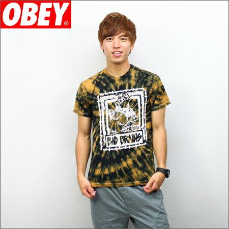 OBEY x BAD BRAINS Tシャツ QUICKNESS PHOTO タイダイ (バッドブレイン)