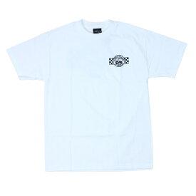 CREATURE プリントTシャツ  STRIKE FAST 白  (クリーチャー)