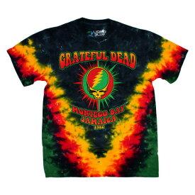 Grateful Dead Tシャツ  MONTEGO BAY 黒xグリーンxイエロー