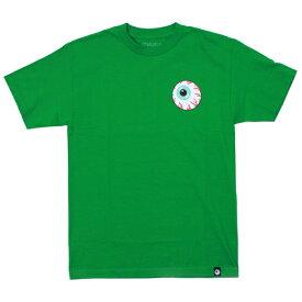 MISHKA Tシャツ  BASIC KEEP WATCH 緑   (ミシカ)(グリーン)