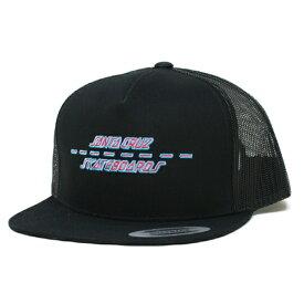 SANTA CRUZ メッシュCAP 黒   STREET STRIP BLACK  (サンタクルズ)(キャップ)