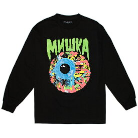 MISHKA ロンTEE 黒 LAMOUR CHAOS KEEP WATCH BLACK (ミシカ)