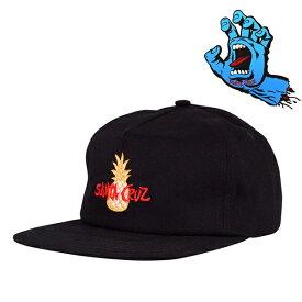 SANTA CRUZ CAP 黒 TROPIC STRAPBACK  BLACK サンタクルーズ キャップ