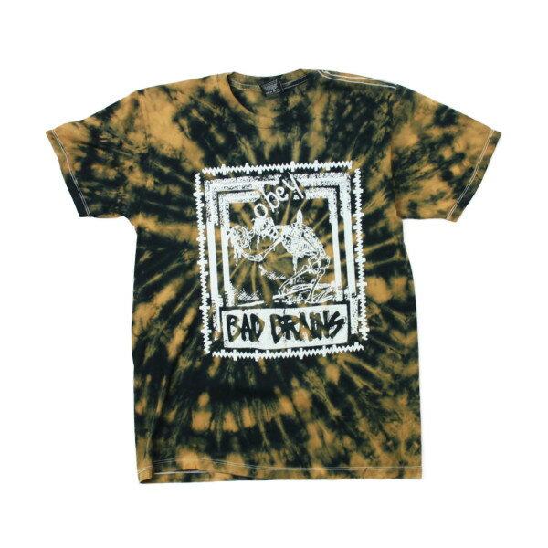 OBEY x BAD BRAINS Tシャツ QUICKNESS PHOTO タイダイ (バッドブレインズ)