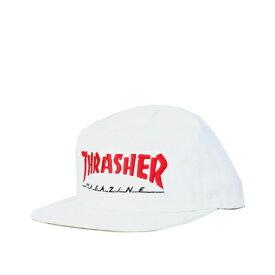 THRASHER CAP   Magazine Logo Two-Tone   WHITE(白)  (スラッシャー)(キャップ)