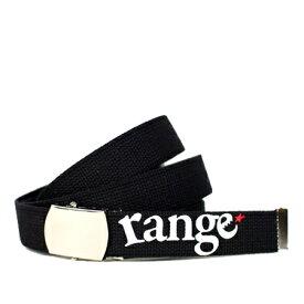 range ガチャベルト range Gotcha New BLACK