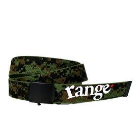 range ガチャベルト range Gotcha New  WOODLAND DEGI CAMO