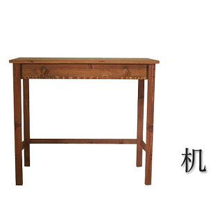 【受注生産商品】ハンドメイド・手作り家具サイズ、素材、仕様が選べる天然木のオーダーデスク学習机書斎デスクPCデスク幅80cm(※イスは別売)見積もり無料