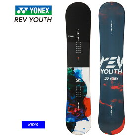 18-19 YONEX ヨネックス REV YOUTH レブ ユース キッズ ボーイズ 子供 スノーボード 板【JSBCスノータウン】