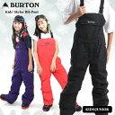 20-21 BURTON バートン キッズ ウェア Kids' Skylar Bib Pant ビブパンツ スノーウェア スノーボード スキー 子供【JS…