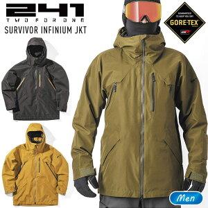 241 トゥーフォーワン サバイバーインフィニアムジャケット SURVIVOR INFINIUM JKT メンズ MB1003 スノーボード ウェア【JSBCスノータウン】