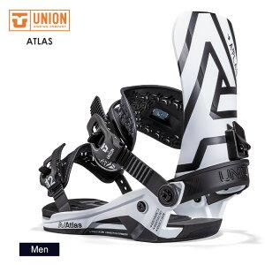 早期予約 21-22 2022 UNION ユニオン ATLAS アトラス スノーボード ビンディング バインディング メンズ【JSBCスノータウン】