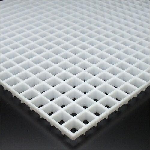 プラスチックルーバー 15-11TYPE LGP-15-11W 乳白色 608mm x 1216mm 【あす楽対応】