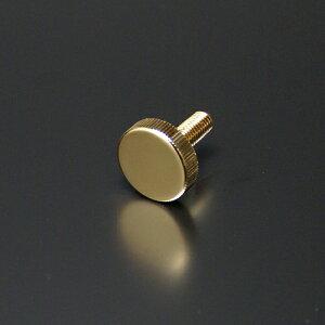 化粧ビス(真鍮製) ローレットタイプ EPS-N25R-20 ゴールド