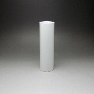 テーブル脚 DSPポール脚 76mm径 x 高さ350mm 白塗装仕上 (※天板受座、アジャスターは別売です)