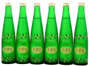 すず音(すずね)【一ノ蔵:発泡性清酒】【300ML 6本セット】【要冷蔵】