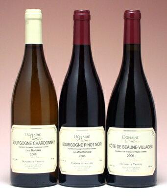 ブルゴーニュ産ワイン【3本セット】【送料無料S】【赤S】【smtb-T】 [2006]年 【RCP】
