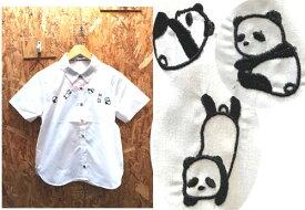 パンダシャツ パンダブラウス はんだブラウス ブラウスパンダ アニマルシャツ アニマルブラウス ネコシャツ クマシャツ うさぎシャツ パンダシャツ