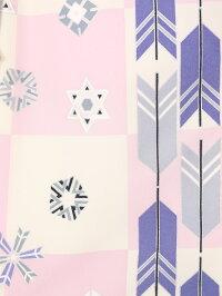 【七五三3歳】[3歳男の子][753男の子][3歳被布セット][往復送料無料][fy16REN07][小物一式つき][フルセット]被布:紫着物:白/薄紫E-H-013