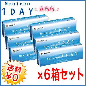 【送料無料・期間限定】 メニコンワンデー 6箱 (1箱30枚入)【 ワンデーアクエア】 と同じレンズです。menicon 1day