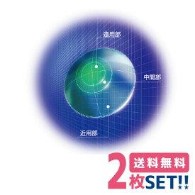 【ポスト便】【送料無料】HOYA マルチビューEX (L) ライト・タイプ 両眼用 2枚 遠近両用 ハードコンタクトレンズ 累進屈折力コンタクト 高酸素透過性 1週間以内の連続装用 ホヤ