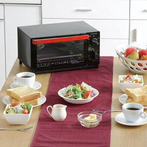 オーブントースターTVE-134C-B送料無料オーブントースター4枚トースターおしゃれパンくずトレイブラックタイマー付温度調整機能付食パンピザお餅トーストパン焼きオーブン大型シンプルアイリスオーヤマ◆2
