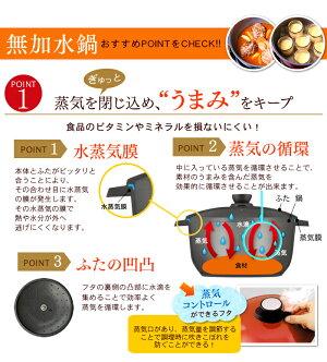無加水鍋20cm3.0LMKSN-P20レッドブラウンブラック送料無料両手鍋ih対応無水鍋20cm無水調理鍋鍋無水調理ができるアイリスオーヤマ無水鍋で料理する