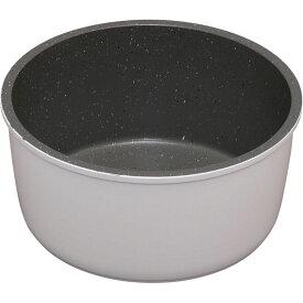 鍋 ダイヤモンドコートパン 16cm IH対応 ISN-P16 ホワイト&マーブル フライパン 鍋 キッチンシェフ セット コーティング ダイヤモンドコート ダイヤモンドコーティング 焦げ付かない IH IH対応 アイリスオーヤマ KITCHEN CHEF