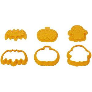 【廃】【ゆうパケットで送料無料】ハロウィン チョコクッキー型 貝印 DL8004チョコクッキー型 抜き型 バレンタイン クリスマス Halloween スター 雪だるま チョコ クッキー 型抜き お菓子作り【