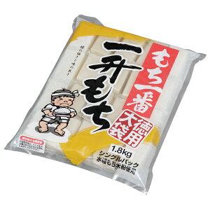 もち一番一升もち 徳用大袋(シングルパック) 1.8kg餅 切り餅 きりもち お正月 お祝い 新年 年始 おしるこ ぜんざい アイリスオーヤマ
