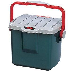 RVバケツ RV-25B グレー/ダークグリーン[レジャーアウトドア小物踏み台イスいす椅子収納洗濯衣類洋服物置コンパクト収納力整理整頓トランク]