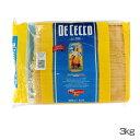 【パスタ スパゲッティ】スパゲッティーニNo11(1.6mm) 3kg【乾麺 種類 スパゲティ 輸入食材 輸入食品】ディチェコ 【D】【拡】