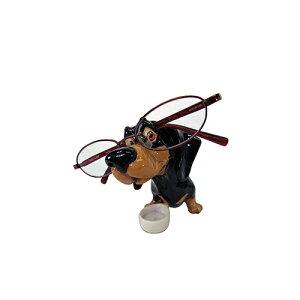 メーカー直送 東洋石創 The GROBAL MARKET(グローバルマーケット) 眼鏡スタンド(ダックスフント) [32001] 海外雑貨 輸入雑貨 W160×H95×D80 ○