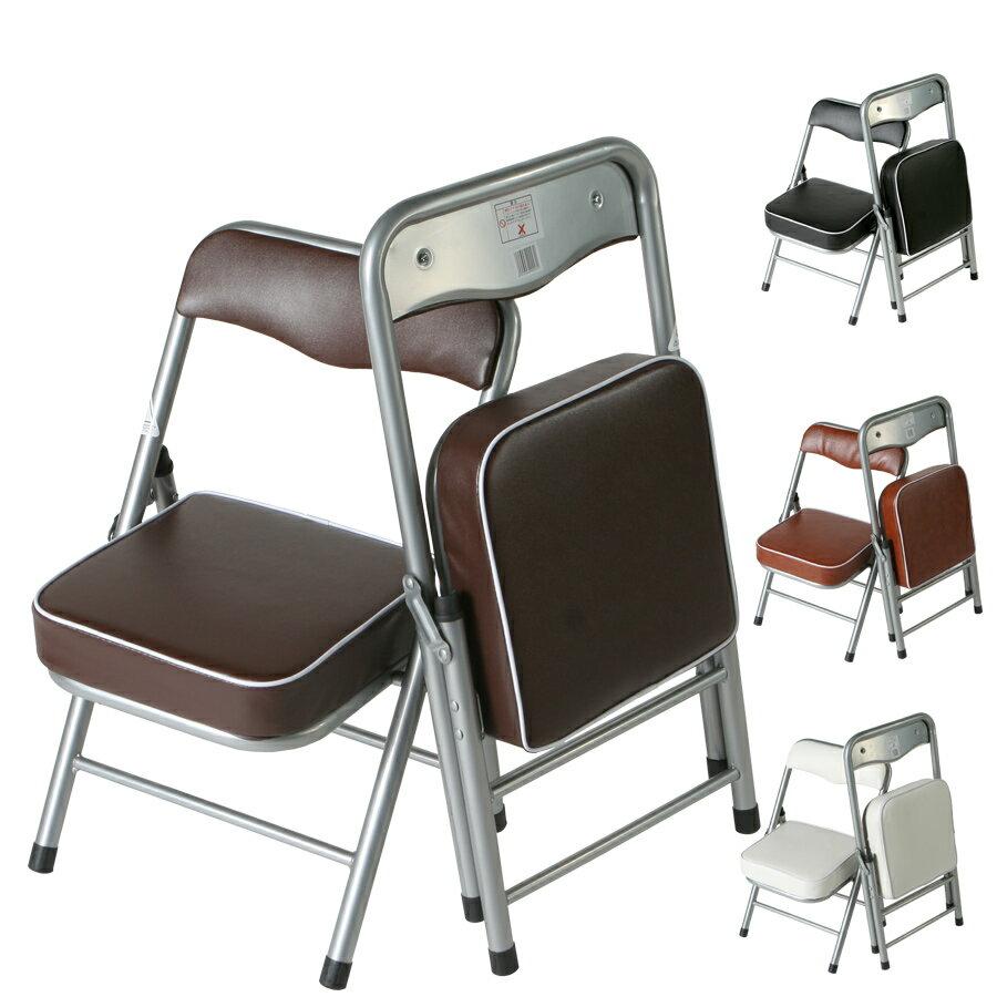 折りたたみ チェア 折りたたみ 椅子 折りたたみイス 運動会 パイプイス 運動会 パイプ椅子 運動会 折畳み椅子 スチール製 完成品 全4色 2.5キロ ちょいがるチェア