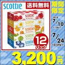 日本製紙クレシア スコッティ (SCOTTIE) ティッシュペーパー フラワーボックス 320枚(...