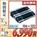 洗える電気ブランケット(194×132cm) Lサイズ YBK-L1930 電気敷毛布 電気敷き毛布 電気ブランケット 電気ひざ掛け毛布…