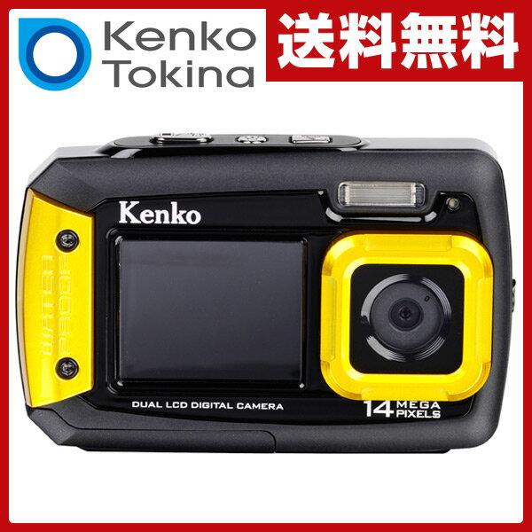 【あす楽】 ケンコー(KENKO) 防水カメラ 1400万画素 (耐ショック/防水/防塵) DSCPRO14 水中カメラ 乾電池 デジカメ デジタルカメラ デジタル防水カメラ コンパクト 防水カメラ 【送料無料】