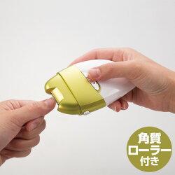 マリン商事電動爪切り電動爪削りLeaf角質ローラー付きEL-50176