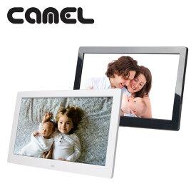 10インチ デジタルフォトフレーム デジタルPOP 電子POP (1280×800) PF-1050IPS スライドショー 大画面 動画再生 音楽再生 FULL HD動画 フォトフレーム おしゃれ キャメル(CAMEL) 【送料無料】