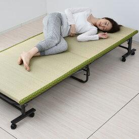 畳ベッド 畳 折りたたみベッド シングル TOB-1S 折り畳みベッド 折畳みベッド シングルベッド ベット 山善 YAMAZEN【送料無料】【あす楽】