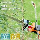 高枝切り 10.8V 充電式 ガーデンポールソー LPS-1025 高枝切りバサミ 高枝切りばさみ 太枝切りバサミ 太枝切りばさみ …